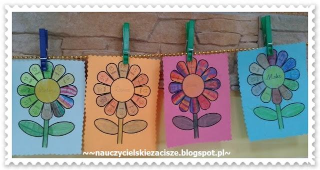 Kwiatki czytelnicze - sposób na czytanie
