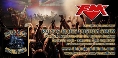 FM at Rock & Blues Custom Show - 29 July 2017 - poster