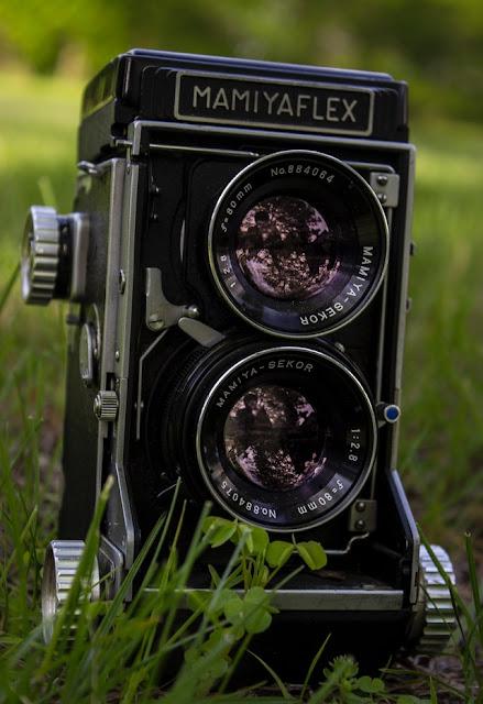 Kamera Analog Mamiyaflex