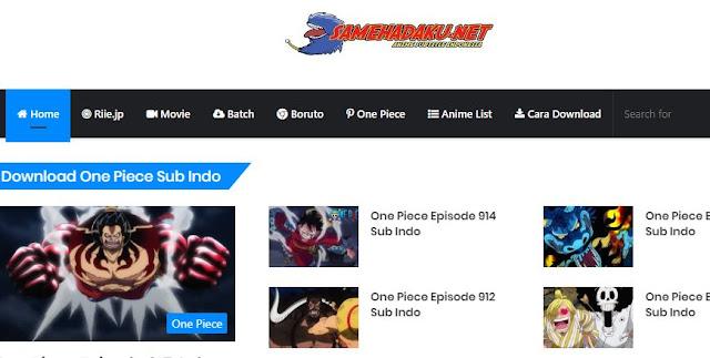 Situs Anime Sub indo Terlengkap dan paling update