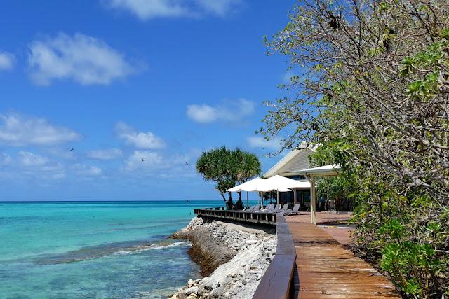 Heron Island Insel Inseltraum Steg Meer Resort