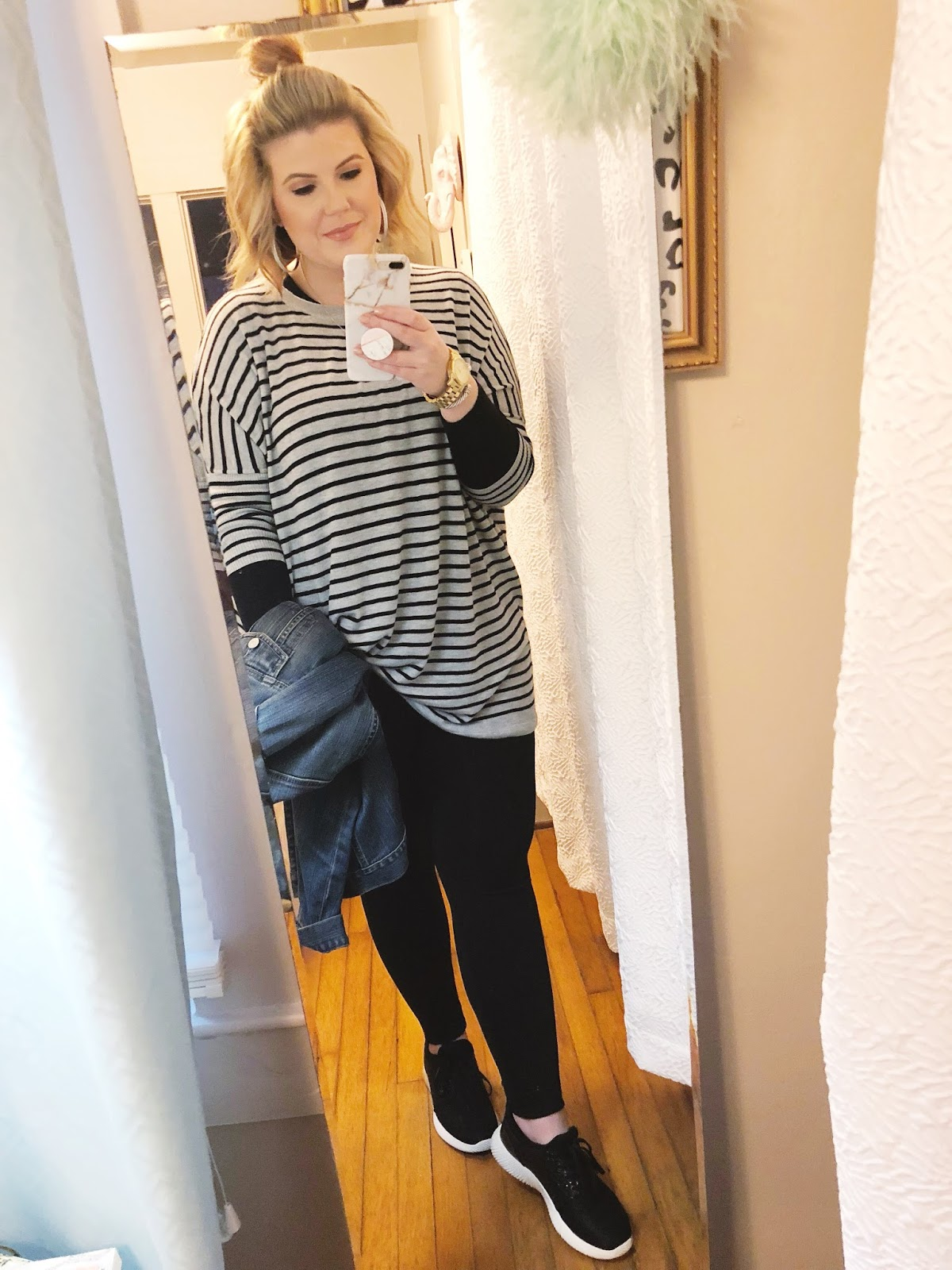 Easy outfits for work athleisure