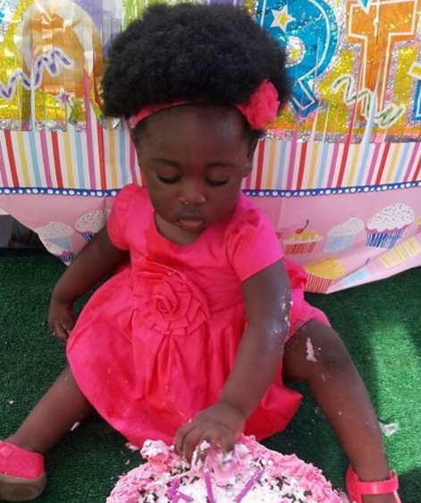 More Photos: Mercy Johnson Okojie Marks Daughter 1st
