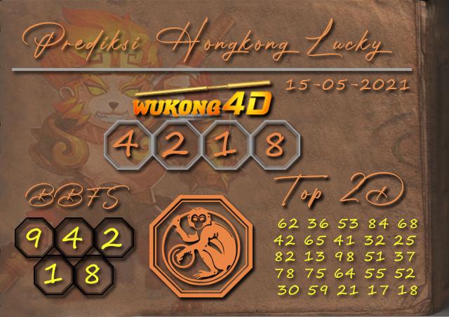 PREDIKSI TOGEL HONGKONG LUCKY7 WUKONG4D 15 MEI 2021