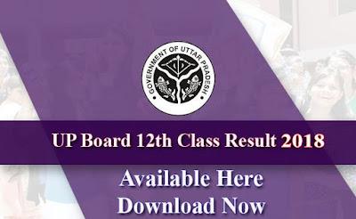 Allahabad Uttar Pradesh (Up) Board 12th Class Result 2018