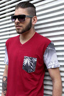 Distribuidor de roupas masculinas de marca