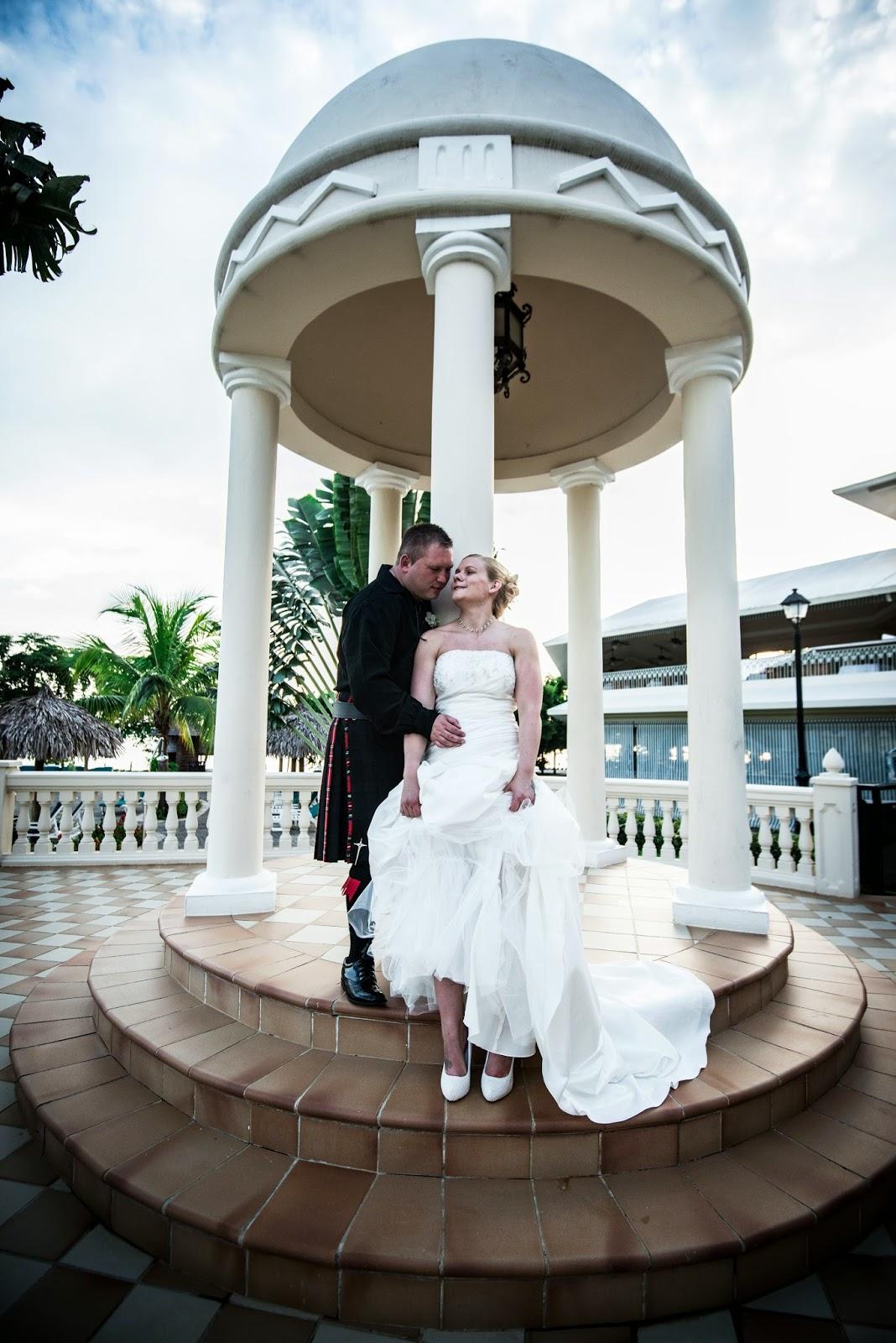 Jamaica Wedding Photography Warren Alison Destination At The Riu Club Negril