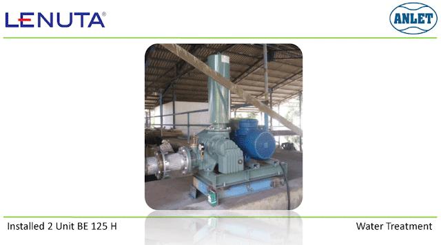 Root Blower untuk proses aerasi limbah cair
