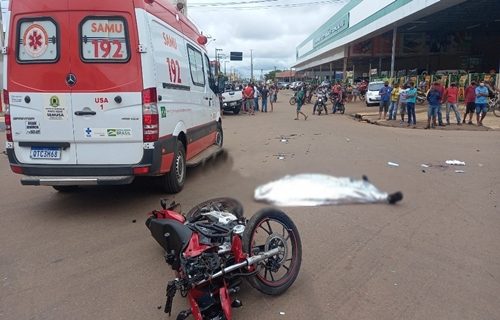 TRÁGICO: Vídeo mostra momento de acidente que terminou em morte de motociclista
