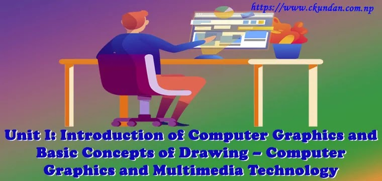 Introduction to Computer Graphics and Basic Concept of Drawing – Computer Graphics and Multimedia Technology