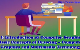 Unit I: Introduction to Computer Graphics and Basic Concept of Drawing – Computer Graphics and Multimedia Technology