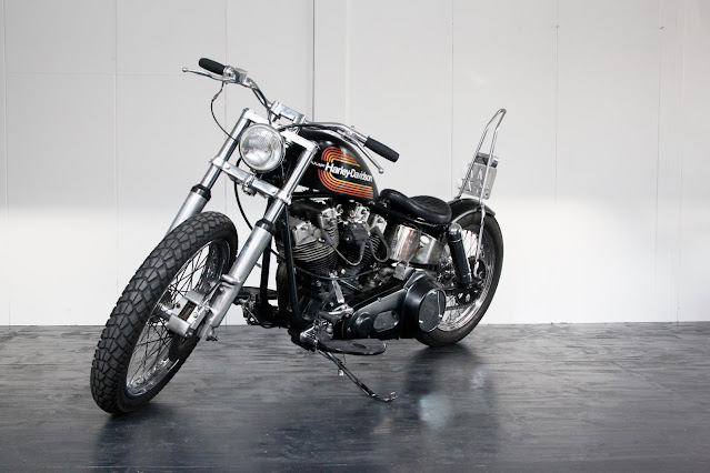 Harley Davidson Shovelhead By Pancake Customs Hell Kustom