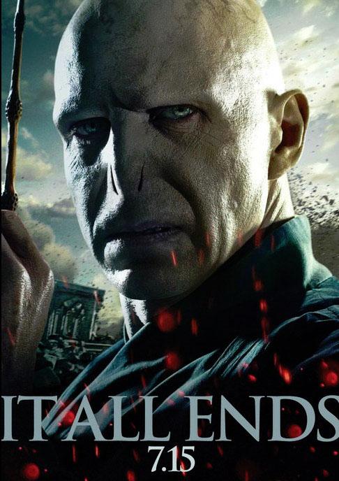 Voldemort en el nuevo póster de Harry Potter y las reliquias de la muerte