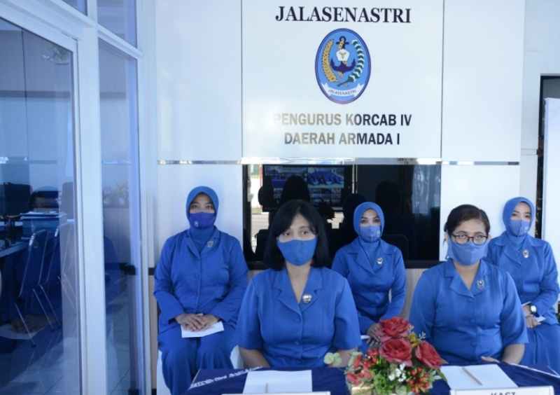 Jelang Praspa, Ketum Jalasenastri Beri Pembekalan Kepada Istri-istri Siswa Diktupa Angkatan LXIX TA.2019