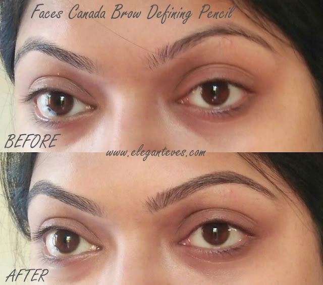 Faces Ultime Pro Brow Defining Pencil Swatch