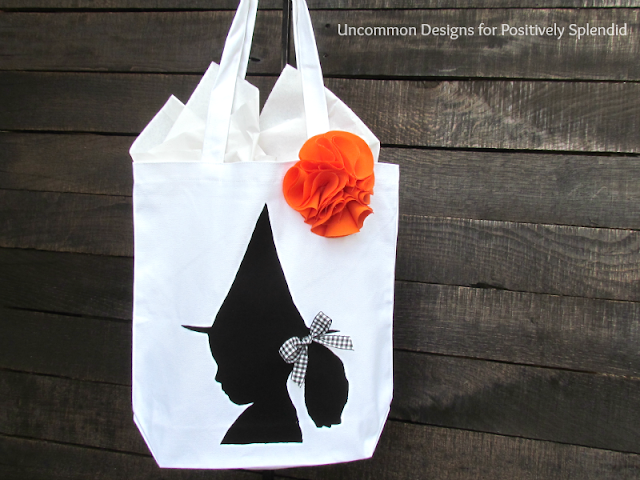 Create adorable Silhouette Treat Bags!