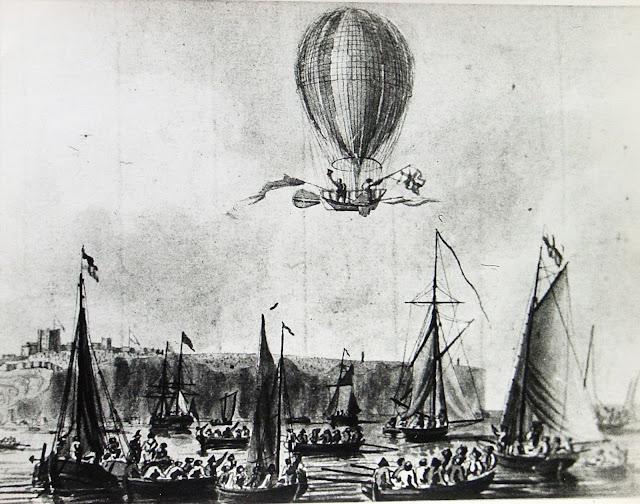 229 lat temu w Warszawie odbył się pierwszy lot balonem