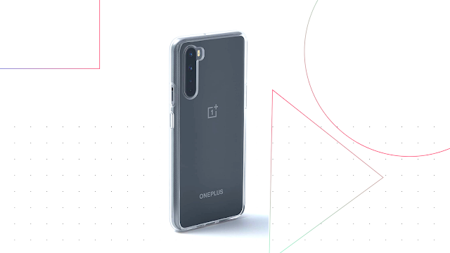 OnePlus Nord Clear Bumper Case