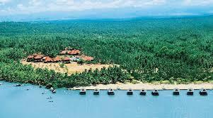 poovar estuary island