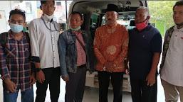 Ambulans Pemkot Bantu Antar Jenazah ke Padang