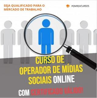 Curso Online de Operador de Mídias Sociais