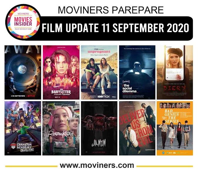 FILM UPDATE 11 SEPTEMBER 2020