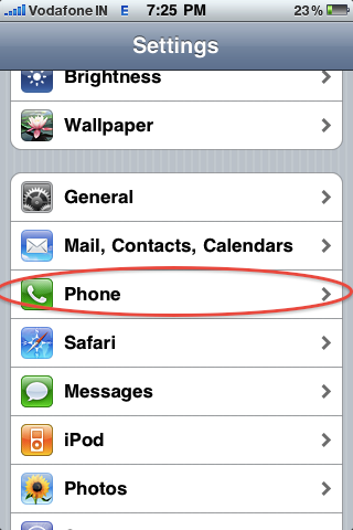 How to stop Vodafone Flash SMS on iPhone ~ test
