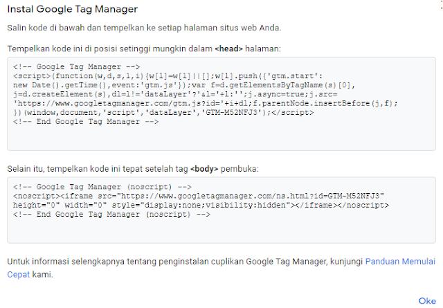 cara memperbaiki google tag manager yang error