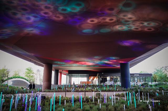 Jardin lumineux de Yann Kersalé - Musée du Quai Branly © Laura Prospero