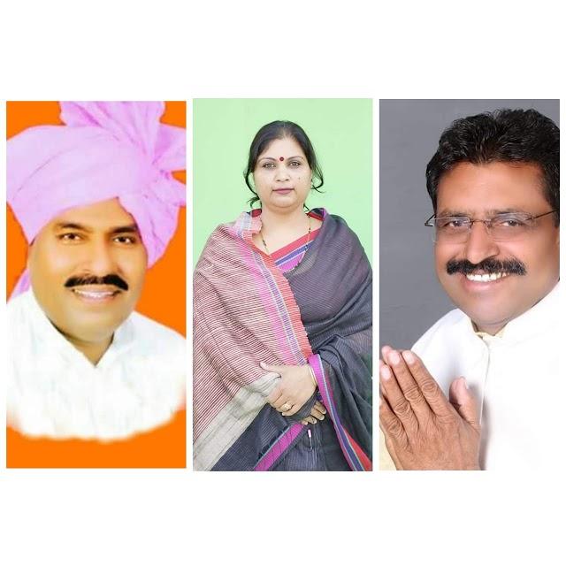 टीकमगढ़ छतरपुर क्षेत्र में केंद्रीय मंत्री वीरेंद्र खटीक की प्रतिष्ठा दांव पर.. कांग्रेस की किरण को स्थानीयता का लाभ.. भाजपा से बगावत कर के सपा प्रत्याशी बने आरडी प्रजापति की हालत खस्ता..