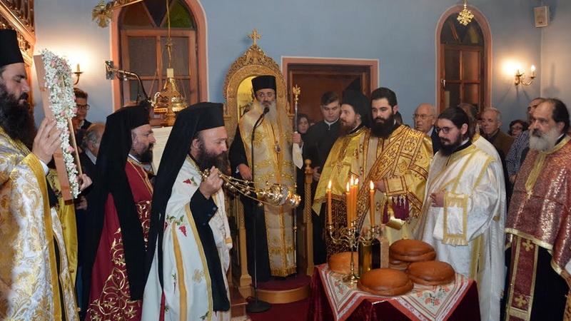 Πανήγυρις Ιερού Παρεκκλησίου Αγίας Αικατερίνης στο παλαιό Νοσοκομείο της Αλεξανδρούπολης