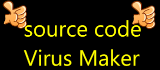 source code Virus Maker