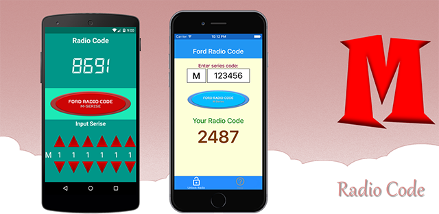 Ford Radio Code (M-Series)   OBDHighTech - Automotive Apps