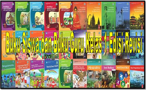 Buku Siswa dan Buku Guru Kelas 1 Edisi Revisi