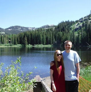 Walking around Silver lake at Brighton Canyon in Utah