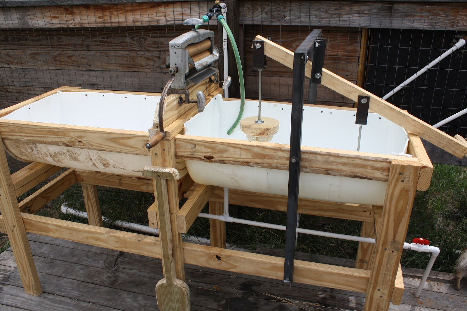 Redneck Washing Machine | Construction and DIY projects ...