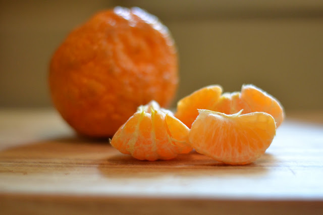 an after school snack: golden nugget mandarin