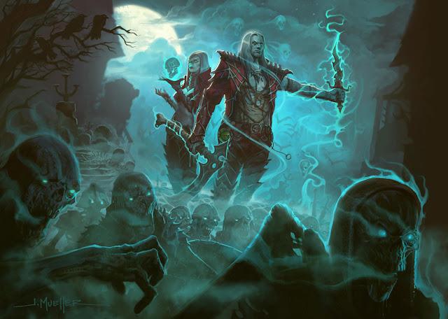 Se filtra lo que sería una nueva clase para Diablo, la nigromante 1
