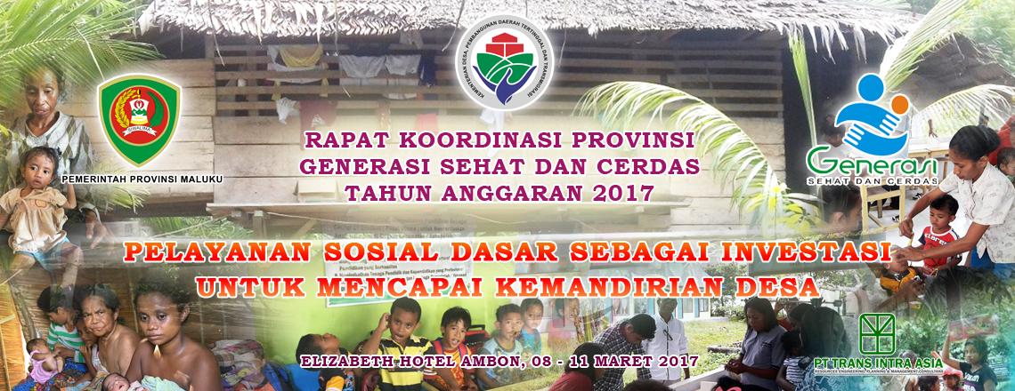 Rapat Koordinasi Provinsi Maluku Ke-3