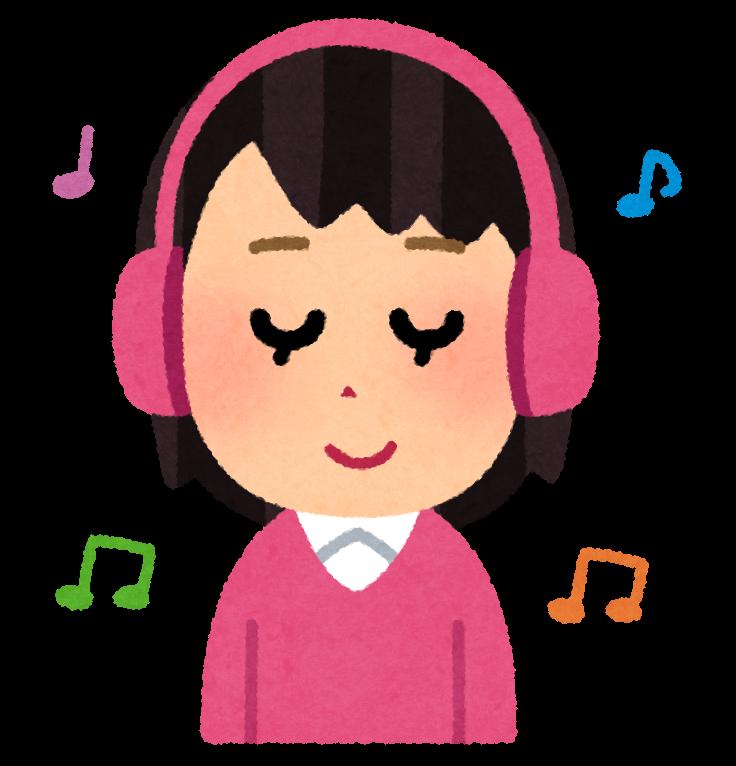 「音楽を聴く フリー素材」の画像検索結果