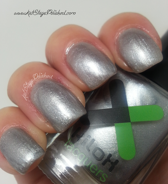 Kilox Lacquers - World Opulence Collection - Australian Silver
