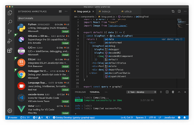 Top 5 free source control plugins for Visual Studio Code