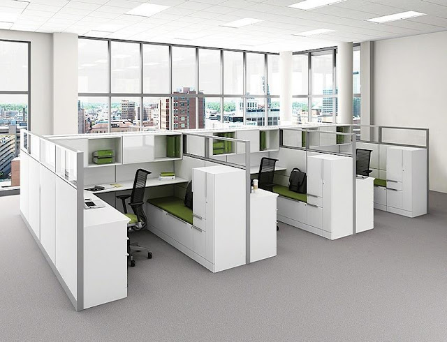best buy white modern office furniture Ireland for sale online