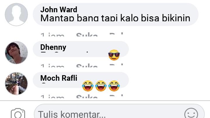 Cara membuat komentar rusak di facebook