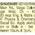 Shri Krishnaswamy Vidyashram CBSE school Chennai conducted Walk in for Teachers for various subjects
