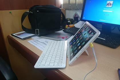 Tablet Android dan asesoriesnya adalah terbaik buat Blogging