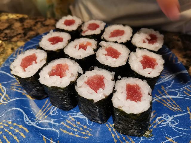 回転寿司鬼へいの寿司