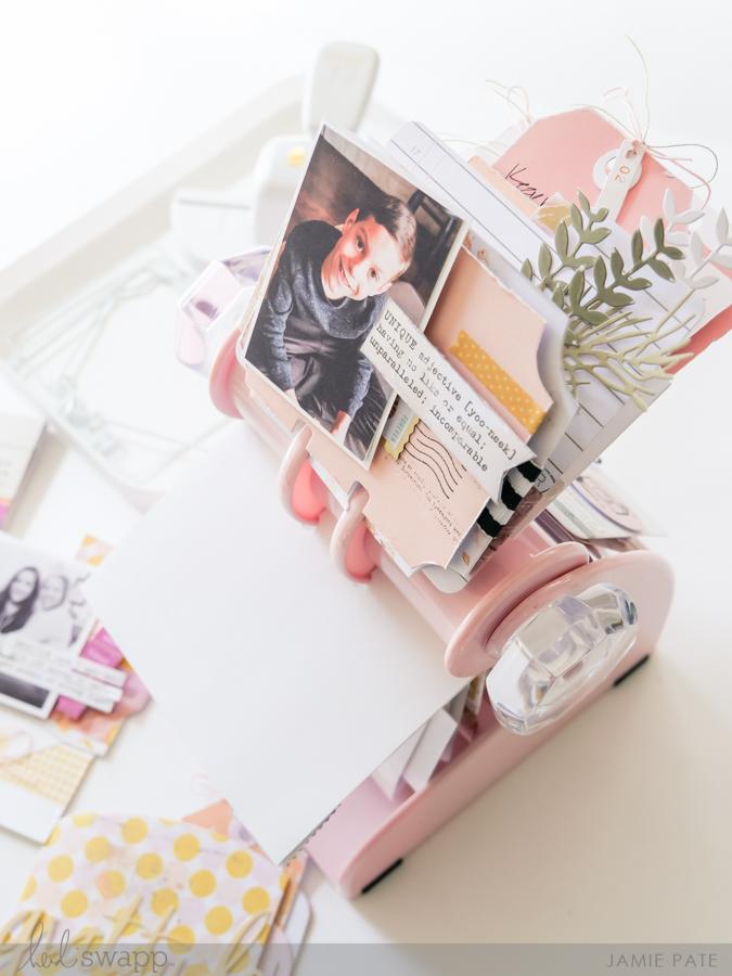 Gift Idea: Heidi Swapp Blush MemoryDex Spinner