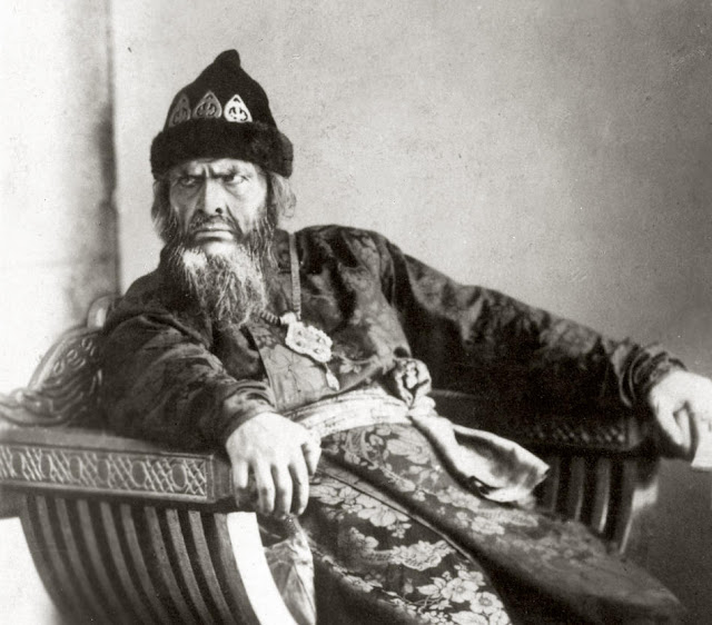Feodor Chaliapin as Ivan the Terrible in Rimsky Korsakov's opera
