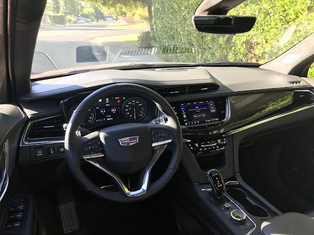 Interior view of 2020 Cadillac XT6 Sport AWD